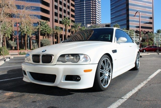 2003 BMW E46 M3 Alpine White