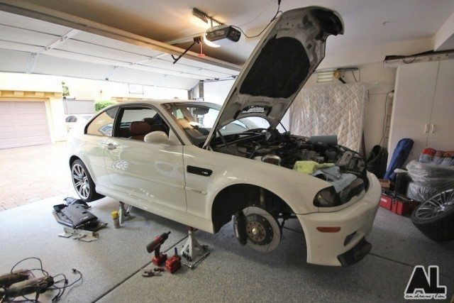 BMW E46 M3 Agency Power headers and Royal Purple Synchromax gear oil