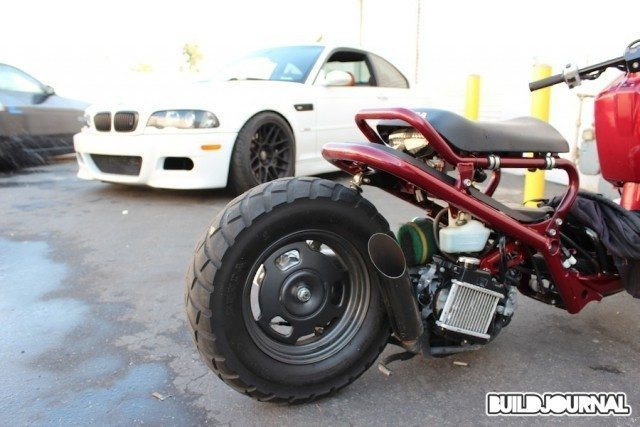 RaceWerkz Engineering 4th of July BBQ - Honda Ruckus and E46 M3