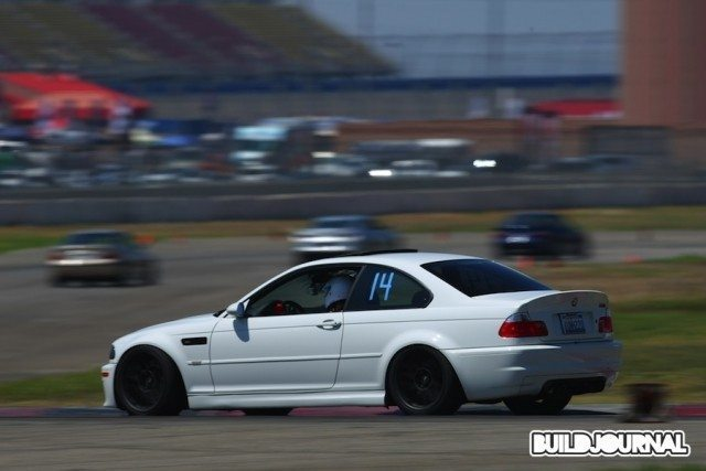 BMW E46 M3 at Auto Club Speedway - Speedventures Track Day - BUILDJOURNAL