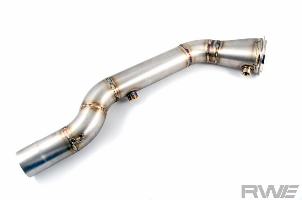 RaceWerkz (RWE) Engineering Catless Downpipe - BMW F80 M3 and F82 M4