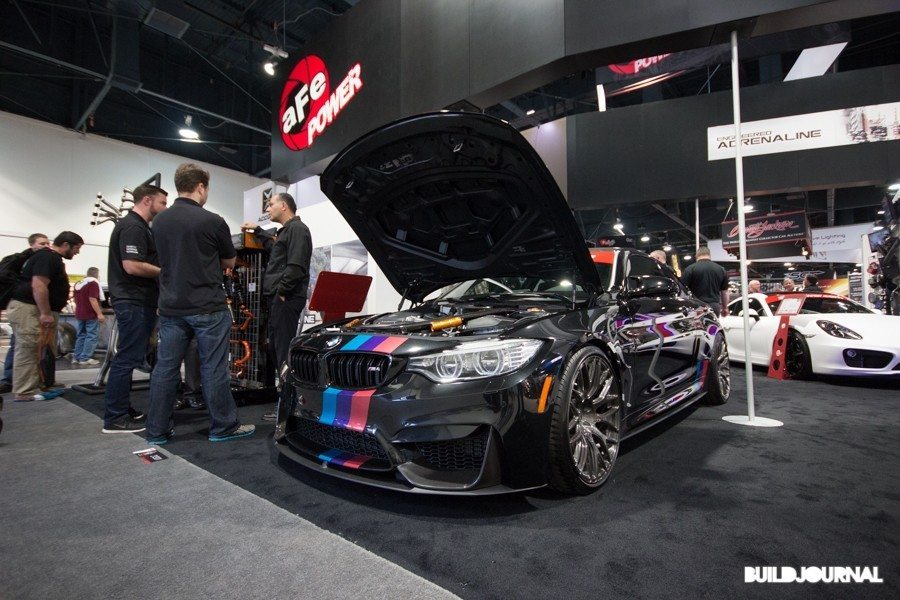 AFE Power BMW M4 - The SEMA Show 2014