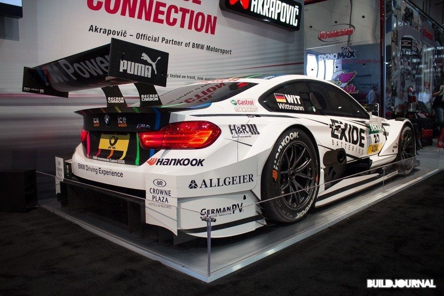Akrapovic BMW M4 DTM - The SEMA Show 2014