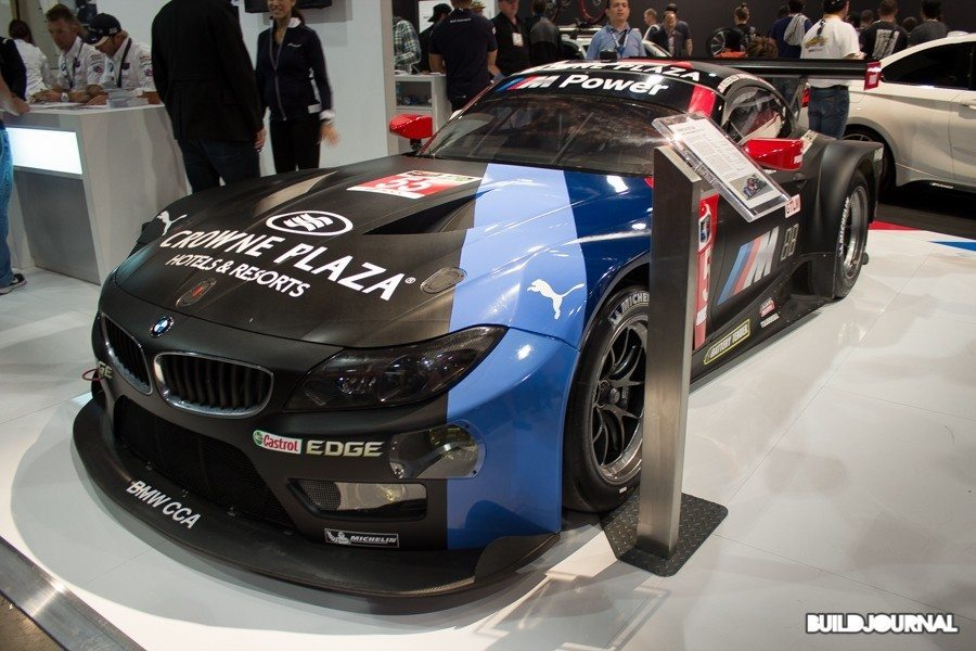 Bill Auberlen BMW Z4 GTE - The SEMA Show 2014