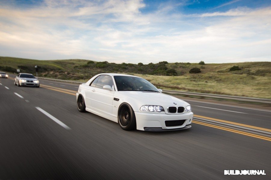 E46 M3 Trio at Santiago Canyon