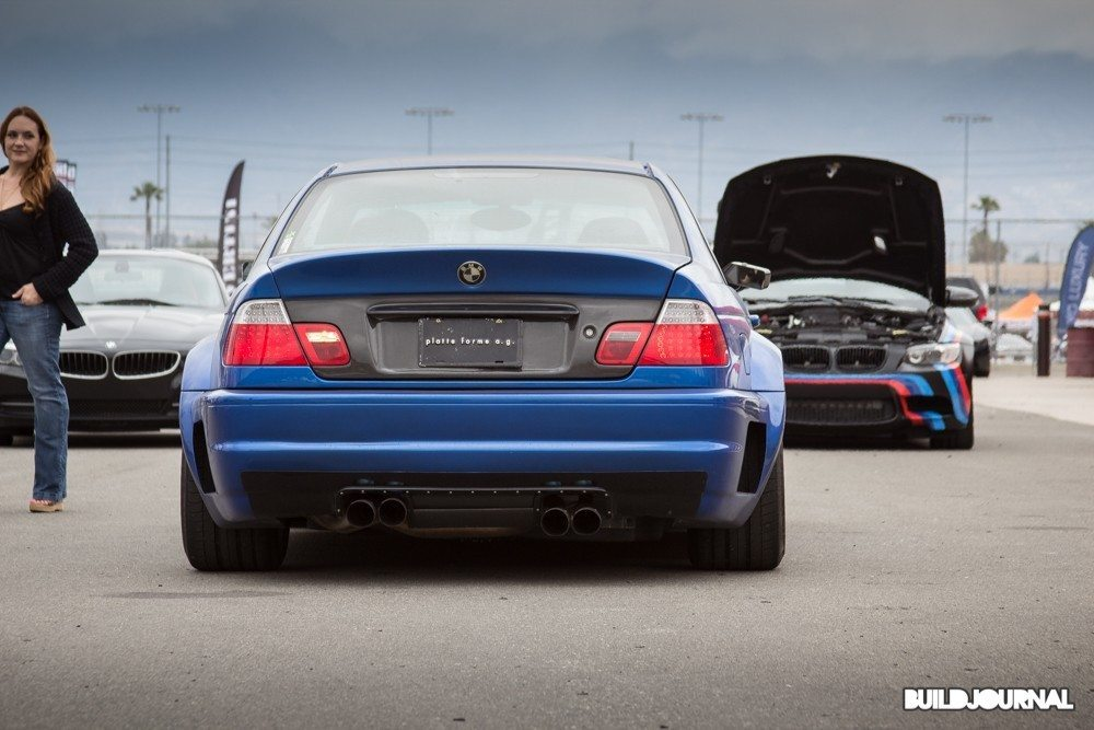 Platte Forme BMW E46 M3 - Bimmerfest 2015 at Auto Club Speedway