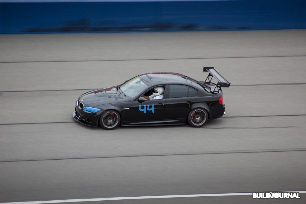 BMW E90 M3 - Bimmerfest 2015 at Auto Club Speedway