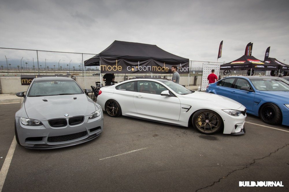 Mode Carbon BMW E92 M3 - Bimmerfest 2015 at Auto Club Speedway