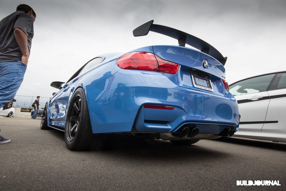BMW F82 M4 - Bimmerfest 2015 at Auto Club Speedway