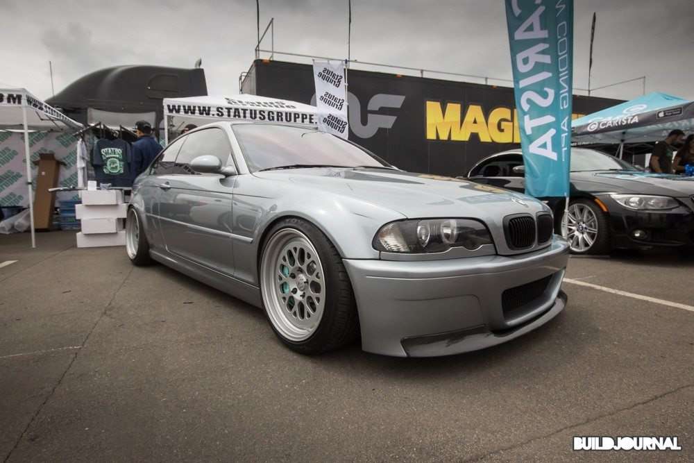 Status Gruppe BMW E46 M3 - Bimmerfest 2015 at Auto Club Speedway