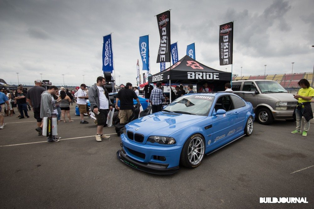 Courtney Wingfield BMW E46 M3 - Bimmerfest 2015 at Auto Club Speedway