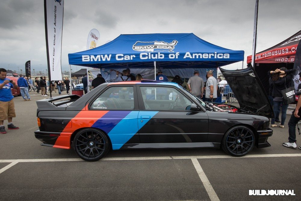 BMWCCA BMW E30 M3 - Bimmerfest 2015 at Auto Club Speedway