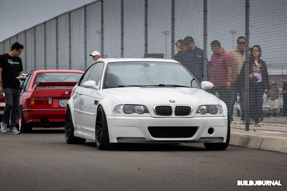 BMW E46 M3 CSL - Bimmerfest 2015 at Auto Club Speedway