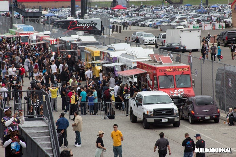 Food Trucks at Bimmerfest 2015 at Auto Club Speedway