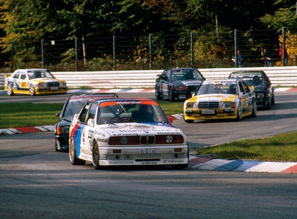 BMW E30 M3 Touring Car Racing