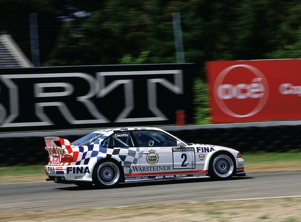 BMW E36 M3 Touring Car Racing