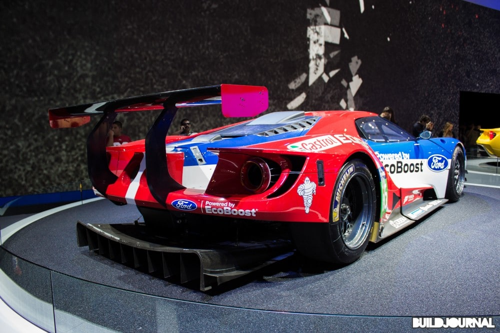 Ford GT Race - Los Angeles Auto Show