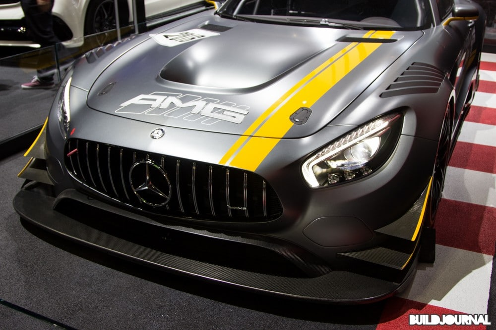 Mercedes AMG Race Car - Los Angeles Auto Show