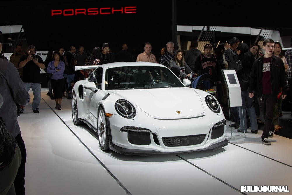 Porsche GT3RS - Los Angeles Auto Show