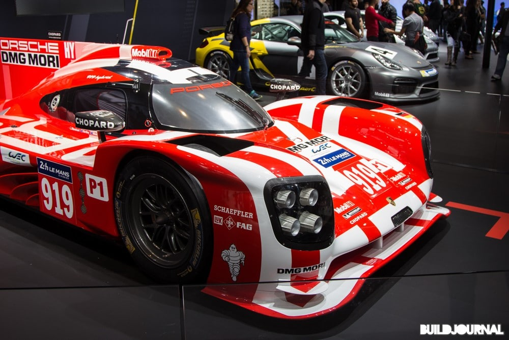 Porsche Race Car - Los Angeles Auto Show