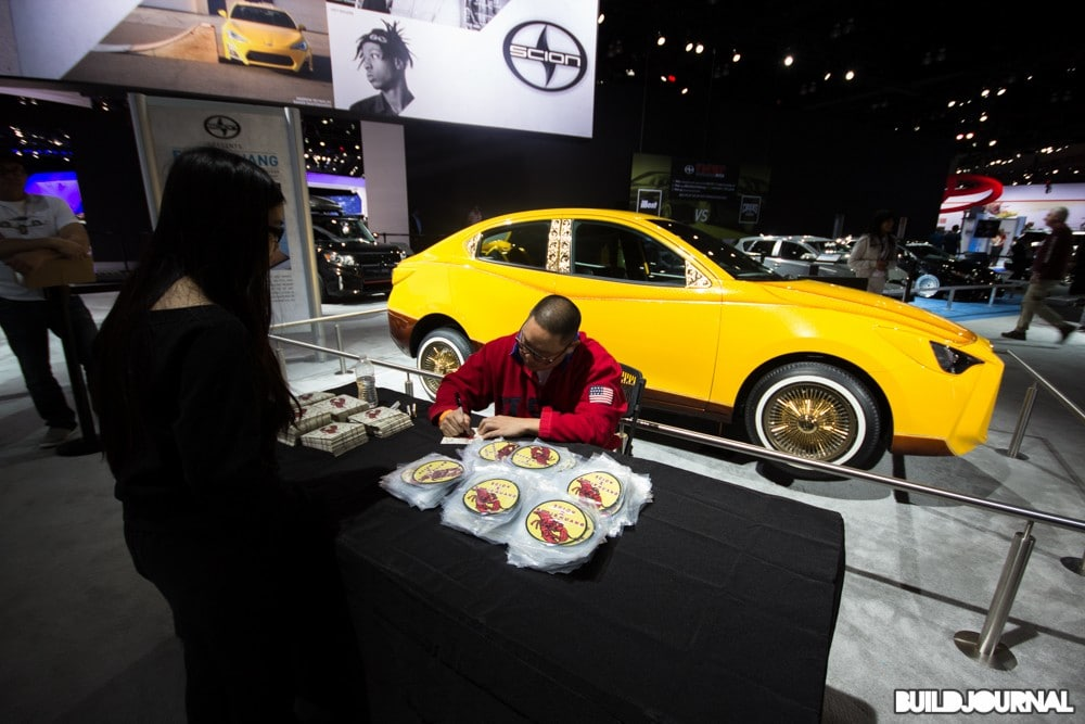 Eddie Huang - Los Angeles Auto Show